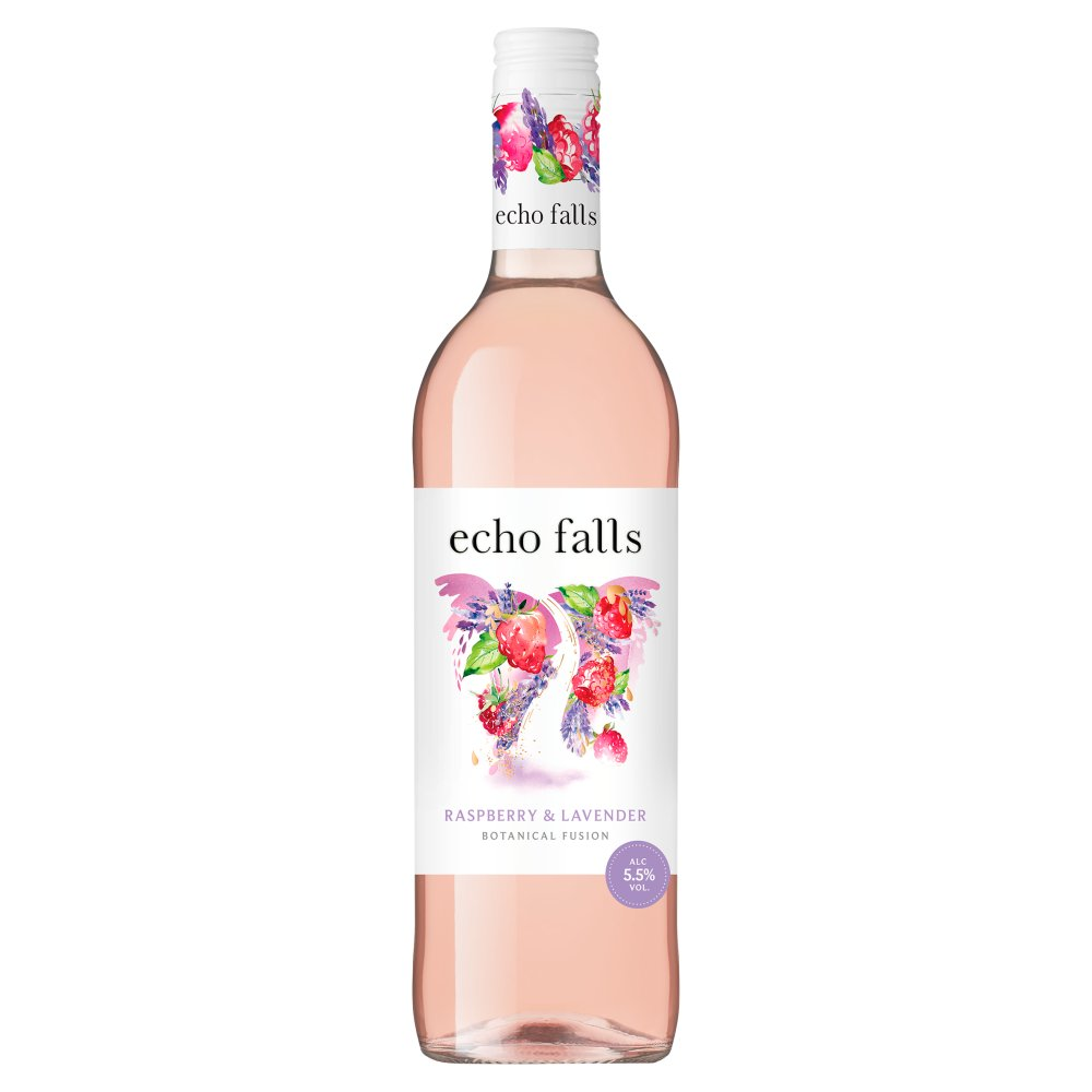 Echo Falls Botanical Fusion Raspberry & Lavender 75cl