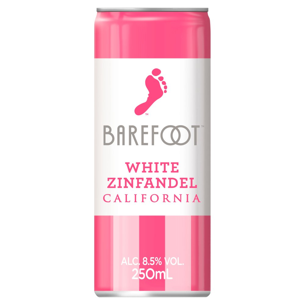 Barefoot White Zinfandel 250ml