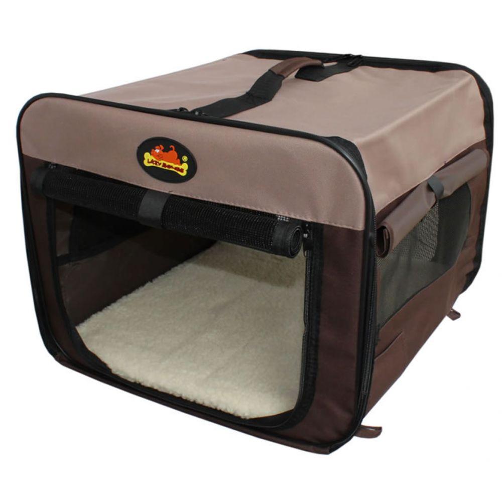 Lazy Bones Canvas Pet Home / Carrier / Crate